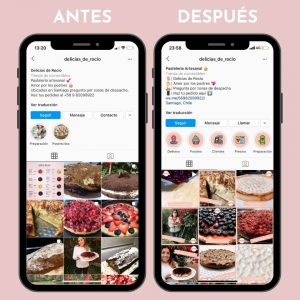 Optimización Instagram Chile